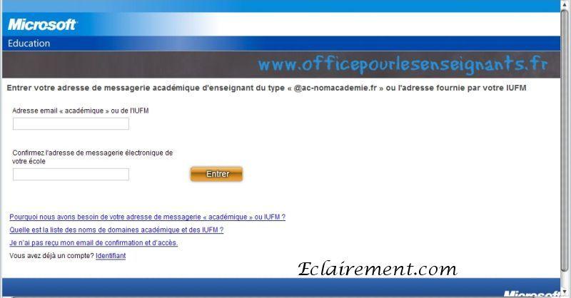 Microsoft office 2007 gratuit pour les enseignants eclairement - Office pour les enseignant ...