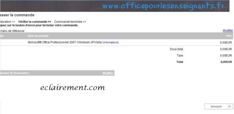 Microsoft office 2007 gratuit pour les enseignants eclairement - Office gratuit enseignant ...