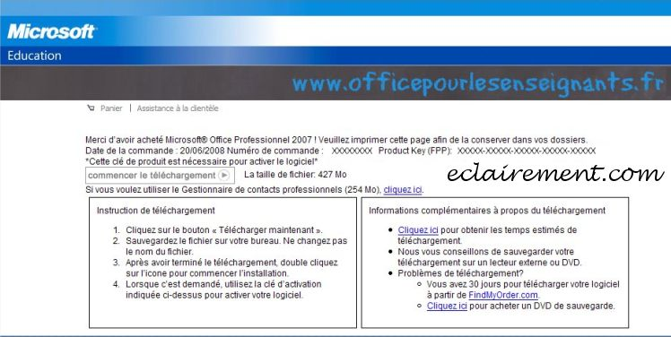 télécharger microsoft office suite 2007 sp1 gratuit (windows)